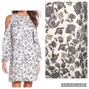 🆕 Kobi Halperin Amber Cold Shoulder Floral Dress